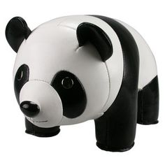 Panda Bookend, $50, now featured on Fab.