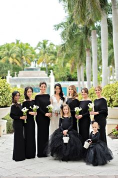 Black and White Wedding at Hyatt Regency Coconut Point