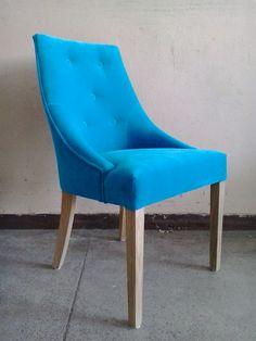 Krzesło Audrey z BBHome wykonane na zamówienie indywidualne w obiciu wybranym przez naszego klienta :)