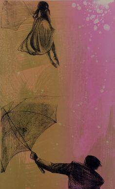 litografi, tre farger. Signert. opplag 45 Kunst, Pictures