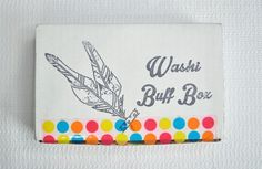 Washi Buff Box Subscription Box Review - June 2016 - Check out our new review of the June 2016 Washi Buff Box subscription box!