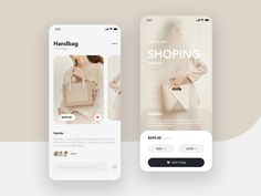 Handbags by lris_design on Dribbble Ui Design Mobile, Design Ios, Mobile Ui, Interface Design, Layout Design, Graphic Design, App Design Inspiration, Apps, Design Reference