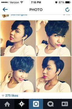 Grow Lust Worthy Hair FASTER Naturally} ========================== Go To: www.HairTriggerr.com ========================== Sexy Short Cut and Style!