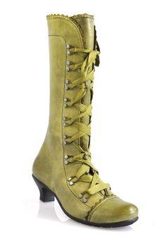 Brako Olive Boots