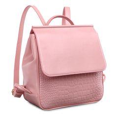 Oferta de mochilas por mayor online para niñas mochila de cuero cocodrilo linda [SD91031] - €47.94 : bzbolsos.com, comprar bolsos online