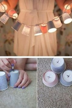 Einfache DIY-Dekoideen mit großer Wirkung - jetzt auf: http://www.gofeminin.de/gespraechsstoff/diy-dekoideen-s1274942.html