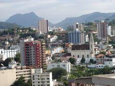 A cidade de Cachoeiro do Itapemirim - Espirito Santo , Brasil