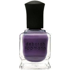 Deborah Lippmann Nail Color, Maniac 0.5 fl oz (15 ml) (24 CAD) ❤ liked on Polyvore featuring beauty products, nail care, nail polish, nails, makeup, beauty, esmalte, deborah lippmann nail lacquer, nail varnish and nail colour