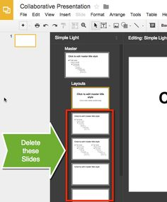 A first week Google Slides lesson to introduce students to each other and to Slides.