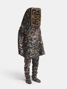 "artist Nick Cave's collection of ""Soundsuits"" are surreal"
