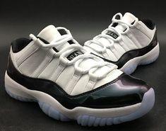 4b7a47f7dccb5a Nike Jordan 11 basketball shoes low Concord chameleon original coat real  carbon