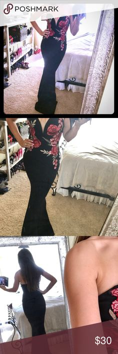 Sexy mermaid gown Windsor brand. Hugs all your curves! Purchased for a wedding but wore a different dress Dresses