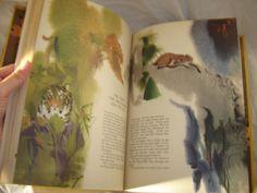Animal Folk Tales by Barbara Ker Wilson and Mirko Hanak HTF folktales childrens book hardback 1971 via Etsy
