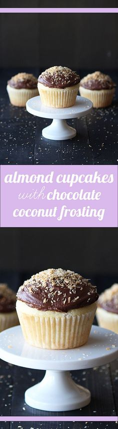 The shredded toasted coconut just takes these cupcakes to a whole new level.