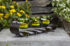 Metalowa Gąsienica - idealna towarzyszka w letnim ogrodzie #partylite