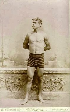 Hot Vintage Men: The Handsome Man from Poughkeepsie New York
