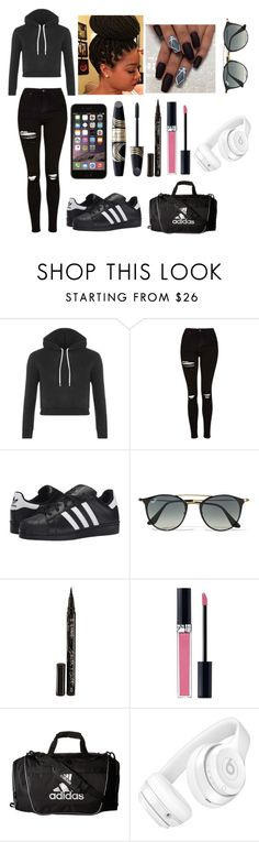 """""""Going Out Today :)"""" by jaden-norman ❤ liked on Polyvore featuring Topshop, adidas Originals, Ray-Ban, Smith & Cult, Max Factor, Christian Dior, adidas and Beats by Dr. Dre"""