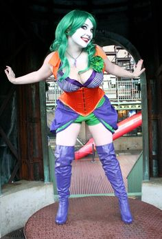 Stunning Rule 63 Joker Cosplay