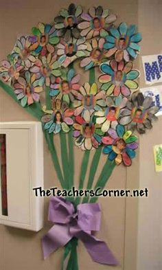 what a great bunch school display flower - Google Search