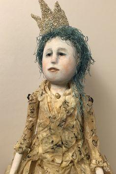 Caroline - original art doll by SusanHopkirkFolkArt on Etsy