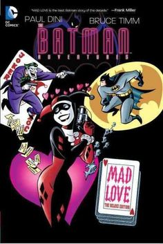 Written and drawn by the masterminds behind the critically acclaimed Batman: The Animated Series , Paul Dini and Bruce Timm, this Batman one-shot reveals the origins of Harley Quinn as she proves her