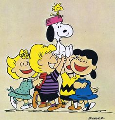 SNOOPY AND THE PEANUTS GANG