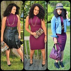My Wine dress times 3 now live on blog #OOTDAmerica #ootdmagazine #realwomenrealstyle #therealoutfit #mystyle #fashionblogger #streetstyle #jcpstyle #jcpenney #belleandsky #fashionista #bargainshopper #fortwayne #midwestblogger #fabulousover40 #fashionbombdaily #kohls #jlo #indianablogger #curvygirls #curlsncurves #globalcoutureblog | Content shared via jcpenney Inspiration Gallery