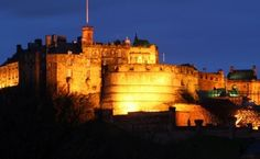 Edinburgh Castle  I haven't made it to Scotland yet and would love to see it. There is so much history to be had.
