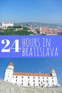 Itinerary for 24 perfect hours in Bratislava, Slovakia. Bratislava is the…