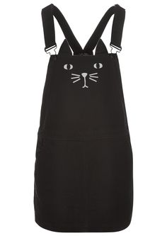 Cat-a-fore Dungaree Dress