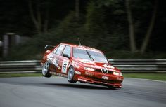 Alfa 155 racing on 1 wheel Alfa Romeo 155, Alfa Romeo Cars, Maserati, Ferrari, Alfa Alfa, Street Racing Cars, Auto Racing, Colani, Fancy Cars