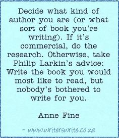Quotable - Anne Fine - Writers Write Creative Blog