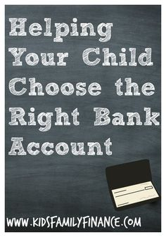 Helping Your Child Choose the Right Bank Account, kids finance, kids money, kidsfamilyfinance Fun Learning, Learning Activities, Teaching Kids, Activities For Kids, Choose The Right, Money Talks, Helping Children, Parent Resources, Family Night