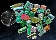 ‎10 grams tourmaline crystals from afghanistan $30 on sale dont miss it!!!
