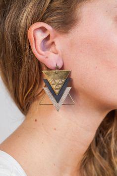 Boucles d'oreilles Mia | L'Atelier des Dames