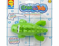 Alex Toys Croc in the Tub Toy Make bath time more fun with this cute crocodile. Wind him up and hell swim through the water. http://www.comparestoreprices.co.uk/baby-toys/alex-toys-croc-in-the-tub-toy.asp