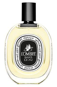 diptyque 'L'Ombre dans L'Eau' Eau de Toilette   Nordstrom Into the gloss high recommend.  garden smell