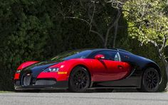 2008 Bugatti Veyron; if I had to make a decision right this minute, I'd decide on ugly.  Fortunately for the car, I'm ambivalent enough to post it----not that the car will care...