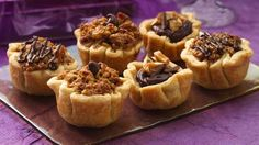 Scrumptious doesn't begin to describe these tart singles filled with oh-so-chocolaty and chewy candy filling.