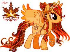 Autumn Princess Custom Pony by YukiAdoptablesPonies on DeviantArt Arte My Little Pony, Dessin My Little Pony, My Little Pony List, My Little Pony Comic, My Little Pony Drawing, My Little Pony Pictures, Mlp My Little Pony, My Little Pony Friendship, My Little Pony Equestria