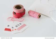 Gift Wrapping Ideas with Washi Tape | Christmas | Wrapping Paper | Gifts