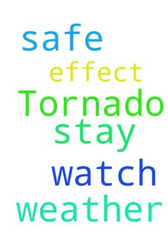 Please pray we stay safe in this weather. Tornado watch - Please pray we stay safe in this weather. Tornado watch is in effect. Posted at: https://prayerrequest.com/t/dj2 #pray #prayer #request #prayerrequest