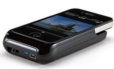 An iPhone projector - cool!
