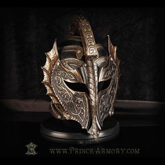 Corinthian helm made back in 2017    #princearmory #leather #customarmor #custom #costume #leathertooling #leatherart #fantasy #trending #medievalarmor #leatherfashion #armor #art #handmade #medieval #knight #helm #leatherhelm #fbf #flashbackfriday #throwback #corinthianhelm