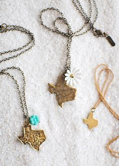Texas Necklaces by Farrah B. $38.00 Gypsy Wagon