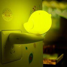 Прекрасный Джунгли Птица Свет Умный Свет Управлением Чрезвычайным СВЕТОДИОДНЫЕ Лампы Night Light Wall Ночник для Детской Комнаты Украшения Дома(China (Mainland))