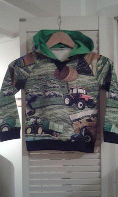 Tractor trui met capuchon