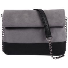 Designer Clothes, Shoes & Bags for Women Purse Wallet, Clutch Bag, Grey Purses, Purses And Handbags, Grey Handbags, Color Blocking, Bag Accessories, Handbags, Accessories
