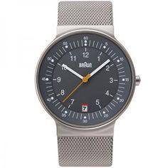 Braun wrist watch