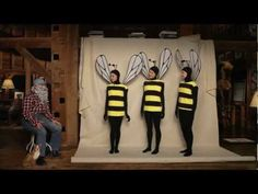 """A FUN educational short film created by Isabella Rosselli, in which """"Burt"""" (played by Isabella. She is also the bee in the far right) of Burt's Bees talks to the Worker Bees for an extraordinary look inside the hive. Bees need our help as they face Colony Collapse Disorder and other threats."""